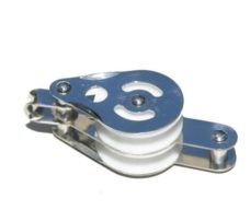 bg101e2 block becket 228x192 - DOUBLE PULLEY 50mm WITH BOTTOM BECKET