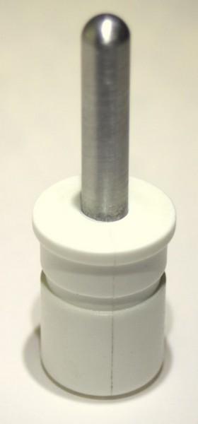 bevtent016ab spigot tent pole - TENT POLE SPIGOT 8mm ALU PIN 25mm POLE