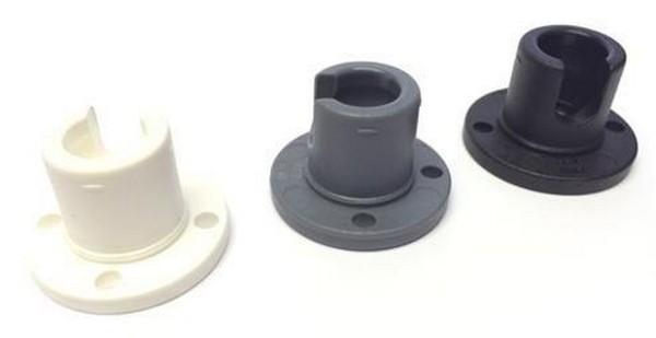 bevtent025b pole ball socket round base - Round Base Socket (without locking ring)