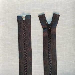 zip open end coil type 5 ykk black 300x300 - 2549-580-100 : Zip Type 5 O/E 100cm Black S/Tab Nickle